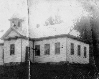 Oak Grove School, circa 1911.